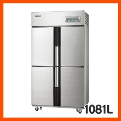 [삼성전자] 업소용냉장고렌탈, 간냉식 (냉장실 4개 / 선반 6개)