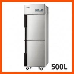 [삼성전자]업소용냉동고, 간냉식 (냉동실 2개 / 선반 3개)