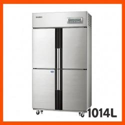 [삼성전자] 업소용냉장고,주요특징 간냉식 (냉장실 2개 / 냉동실 2개 / 선반 6개)