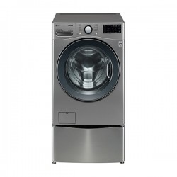 [LG] 트롬 트윈워시 드럼세탁기 18KG 모던스테인리스 F18VDPM